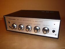 REALISTIC SOLID STATE P.A. AMPLIFIER AMP P A PA 2 x MICROPHONE INPUTS