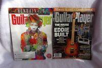 2 Guitar Player Magazines May 2012 Hendrix at 70 & Holiday 2011 Eddie Vanhalen