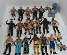 Wwe Wrestling Figure Lot Of 20 Wwe Action Figures Undertaker Big Show W/Belts