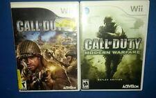 Call of Duty 3 & Modern Warfare (Nintendo Wii)