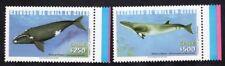 Chile 2002 Stamp # 2123/4 Mnh Mammal Minke Whales