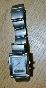 Vintage Philip Persio Analogue Digital Watch Fully Working