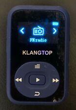 Klangtop K-183 Bluetooth Mp3 Player Digital Music Player Fm Radio Voice Tested