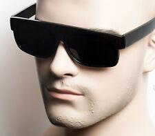 LOC Large Lowrider Gangster OG Style BLACK Vintage Sunglasses