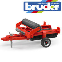 Bruder Cambridge Field Roller Kids Farm Toy Farming Accessory Model Scale 1:16