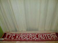 """1.FC Kaiserslautern Fan Schal Erfolge """"DIE ROTEN TEUFEL VOM BETZENBERG"""" TOP"""