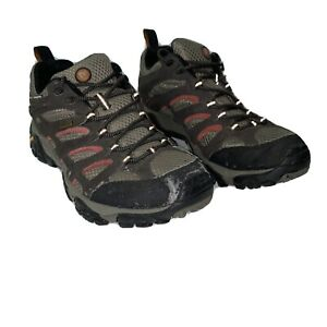 Merrell Espresso Men's Size 8 Vibram Hiking Trail Shoes