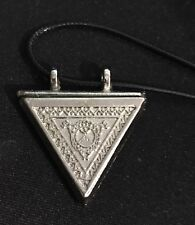 Aytul Kursi Metal Triangle Pendant Protection From Eye Eye Taweez Taviz Gift