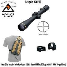 Leupold 170700, VX-3i 4.5-14x40mm (30mm) Side Focus Boone & Crockett w/ Gifts!