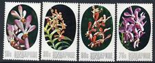 SINGAPORE MNH 1976 SG272-75 Orchids