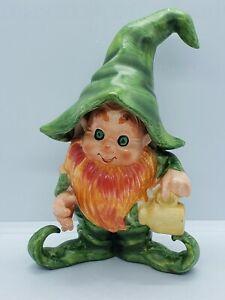 Vintage Lefton Leprechaun Figurine St. Patrick's Day