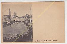 rare CPA 59310 ORCHIES La Place du Jeu de Balle Joueurs et Spectateurs animation