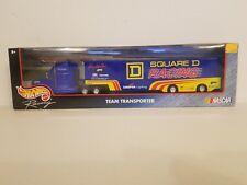 Vintage Hot Wheels NASCAR Team Transporter Square D Racing