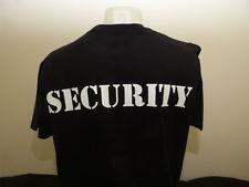 Security 3XL-5XL Sicherheitsdienst Türsteher T-Shirts XXXL - XXXXXL