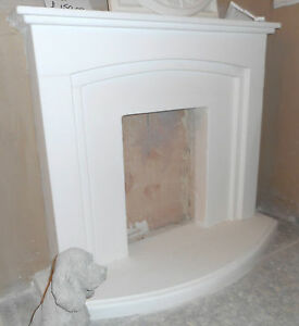 F13 Oxford Fire Surround in Plaster - BIRMINGHAM COLLECTION ONLY