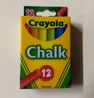 Lot of (36) Crayola Multi Colored Chalk 12 pack (432 count)