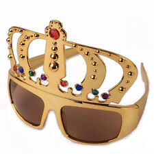 Crown shaped glasses,fun party glasses,king's crown glasses,novelty glasses
