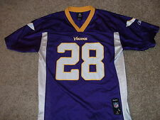 MINNESOTA VIKINGS  Adrian Peterson Reebok NFL players jersey Youth Large Adult M