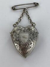 More details for stunning vesta case sterling silver birmingham 1898 amazing collectors piece
