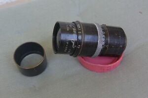 Dallmeyer Telephoto F/4,5 F=4'' C Mount Lens