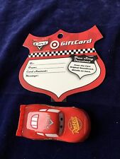Target 2006 Disney Pixar Cars Rust- Eze Collectible Gift Card No Balance