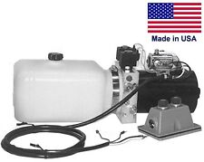 Commercial Hydraulic Dc Power Unit 4 Way Function Side Mount 086 Gal
