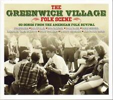 THE GREENWICH VILLAGE FOLK SCENE - VARIOUS ARTISTS (NEW SEALED 3CD)