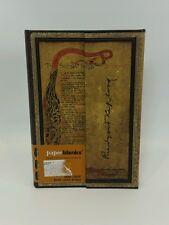 "Paperblanks Embellished Manuscripts Kipling Song Mini Wrap 4""x5"" journal NEW"
