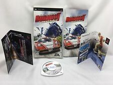 Sony PSP PlayStation Portable Burn Out Legend Fliers TrackingNo. from Japan