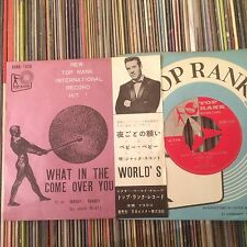JACK SCOTT WHAT IN THE WORLD'S COME OVER YOU ROCKABILLY JAPAN 7""