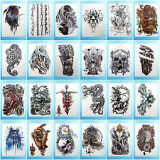 24 sheets/lot extra large arm tattoo temporary BIG DIY Tatoo Body Art