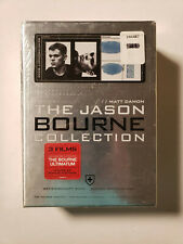 The Jason Bourne Collection (DVD, 4-Disc Set, Limited Edition) SEALED