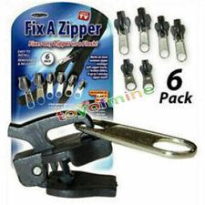 Outdoor TV 6Pcs Fix A Zipper Zip Slider Rescue Instant Repair Kit Replacement