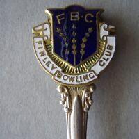 Finley Bowling Club FBC Paramount Souvenir Spoon Teaspoon