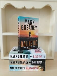 Collection of 4 x Paperback Books Crime Thriller Mark Greaney - Ballistic -  NEW