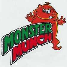 Monster Munch exterior de vinilo Coche Pegatinas Calcomanías Gráficos X 2