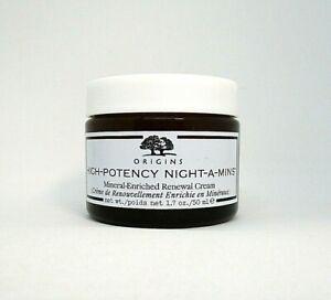 Origins High-Potency Night-A-Mins Mineral-Enriched Renewal Cream ~ 1.7 oz