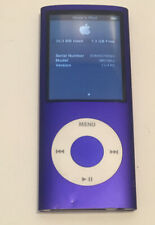 Apple iPod Nano 4th Generation Purple (8 GB)  Model A1285 Preowned WORKS GREAT!