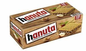 Ferrero Hanuta 220 g - Chocolate Hazelnut Candy from Germany