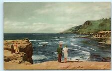 *No 3 Union Oil Company Cape Foulweather Otter Crest Oregon's Coast Postcard B56