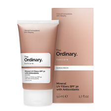 The Ordinary Mineral UV Filters SPF 30 Sunscreen Cream - with Antioxidants 50mL