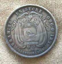 More details for coins - ecuador - un sucre - 1889