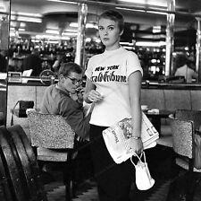 8x10 Print Jean Seberg Breathless 1960 #JS99