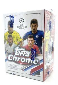 Topps Chrome UEFA Champions League 2020/21 - Sealed Blaster Box 🇬🇧 Stock