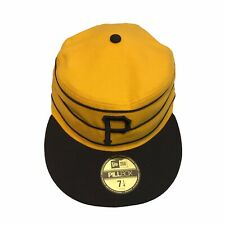 Pittsburgh Pirates New Era 59Fifty Throwback Pillbox 7 1/4 Fitted Cap Hat $38