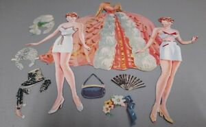 Lucille Ball Paper Dolls Lowe #2475 1944