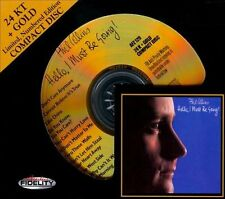 Hello, I Must Be Going! by Phil Collins (CD, Audio Fidelity) 24 KARAT GOLD