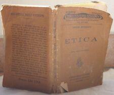 EMILIO MORSELLI ETICA PSICOLOGIA STORIA COSCIENZA 1915
