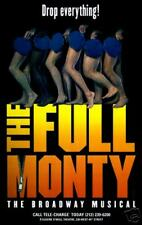 THE FULL MONTY BROADWAY POSTER