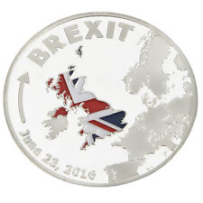 BREXIT COIN June 2016 Silver Plated Commemorative Coins Collectible-Gifts#